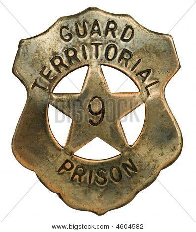 Prison Guard Badge