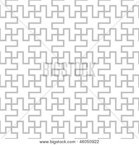 Vektor-geometrische nahtlose abstrakt Stock-Entwurfsmuster
