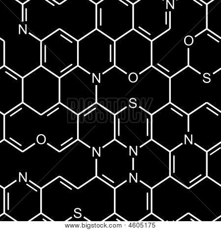 Seamless chemical pattern
