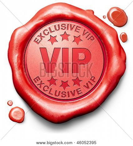 vip very important person exclusive star and famous personality red sign stamp icon ticket