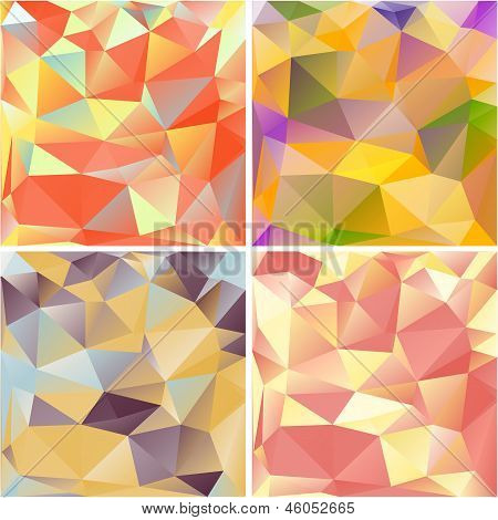 Multicolored Geometric Backgrounds.