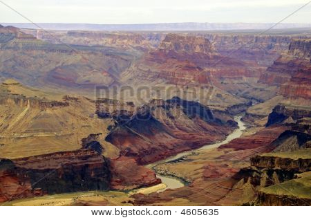 River Through Grand Canyon