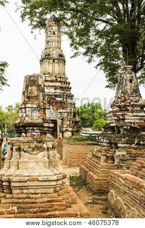 Wat Phutthai Sawan, Ayutthaya, Thailand