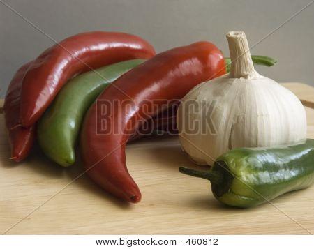 Chiili  And Garlic Ii