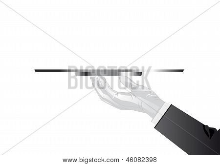 Hand Of The Waiter