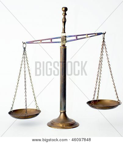 Rusty vintage scale