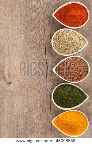 Herbs and Spices Border