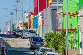 foto of tourist-spot  - The Colourful Bo Kaap situated in Cape Town in the Western - JPG
