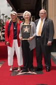 LOS ANGELES - MAY 24:  Diane Ladd, Olympia Dukakis, Ed Asner at the ceremony bestowing Olympia Dukak