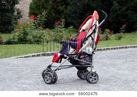 Stroller At A Park