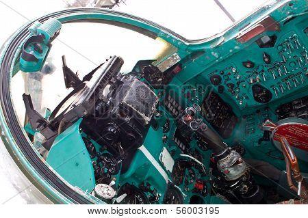 Control Panel Jet Fighter