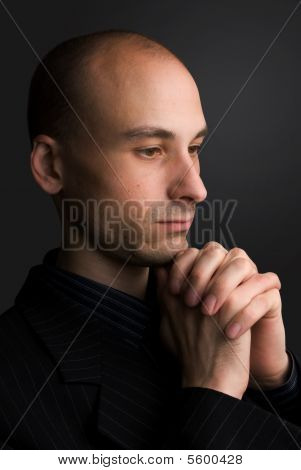 Man Praying.
