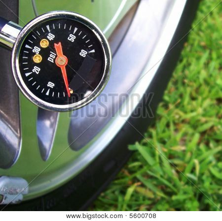 Tire Air Pressure Gauge
