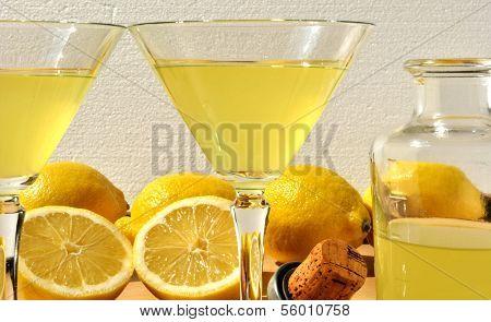 Homemade Lemon Drinks