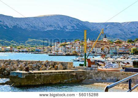 Town Of Baska, Island Krk