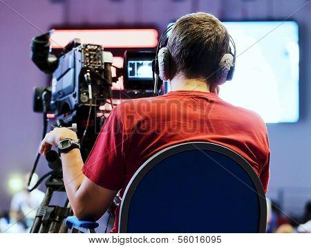 Professional Cameraman