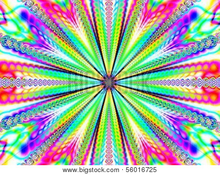 Colorful Abstract Fractal