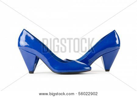 Nice woman shoes in fashin concept