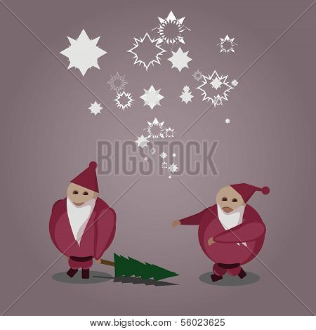 Bad and Nice Santa