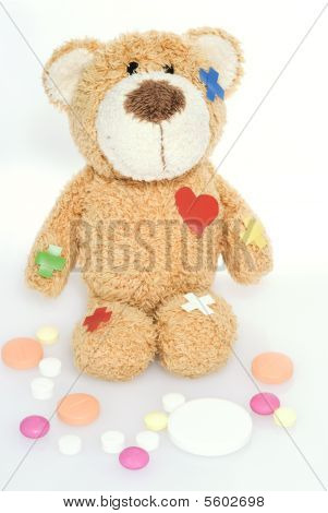 Teddy Bear In Hospital