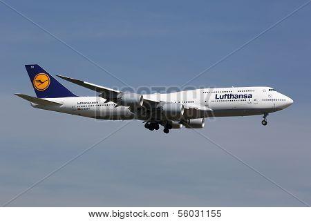Lufthansa Boeing 747-8 Jumbo-jet