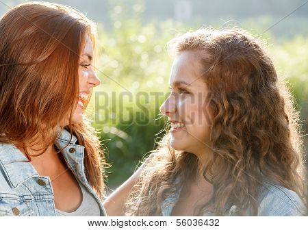 Two Teenage Girls