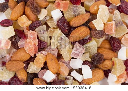 Healthy dried fruits