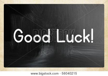 Good Luck Concept