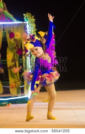 Baby-Cup 2013 rhythmics contest in Minsk, Belarus