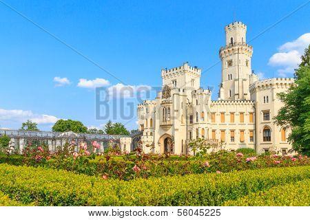 Hluboka Nad Vltavou Palace, Czech Republic