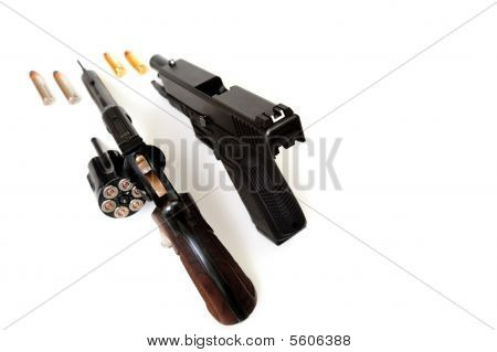 Revolver And Pistol