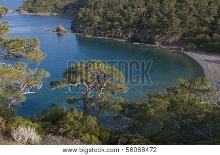 mediterrane Landschaft