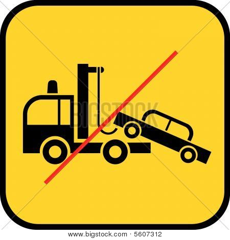 Tow Truck Use Prohibited