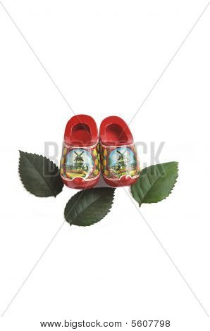 Miniature Wooden Shoes.