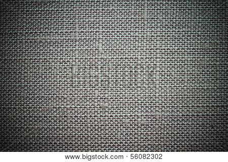 Ashy Background Of Rough Dense Fabric