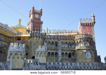 Romantic Palace In Sintra