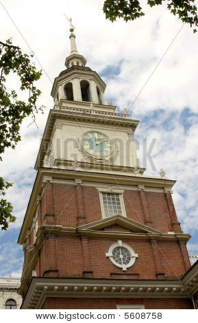 Steeple of Independence Hall
