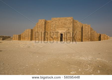 Wall Of The Step Pyramid