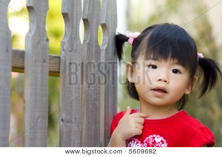 Cute Little Asian Chinese Girl