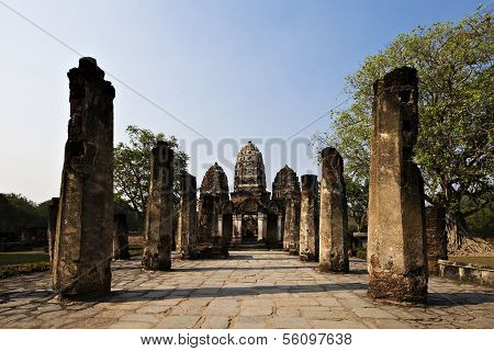 Sukothai old city In Thailand