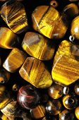 foto of tigers-eye  - Tiger Eye Stones Ready to Make Handmade Jewelry - JPG