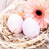 Beautiful Easter Eggs In Crocheted Covers