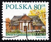 Postage Stamp Poland 2000 Grabonog, Country Estate, Piaski