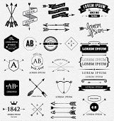 image of arrow  - Vintage design elements - JPG
