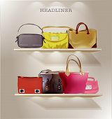 image of exposition  - Bag illustration - JPG