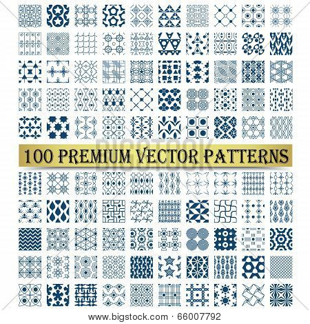 100 Premium Vector Patterns