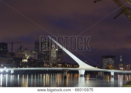 Puerto Madero By Night, Buenos Aires