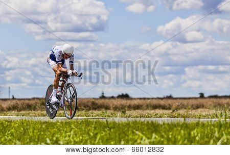 The Cyclist Brice Feillu