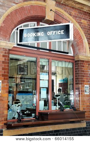 Booking office, Moor Street Railway Station.