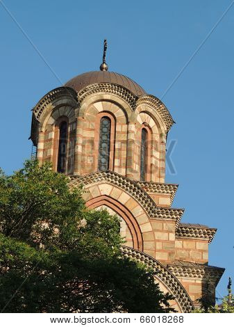 Orthodox Church Tower, Belgrade, Serbia